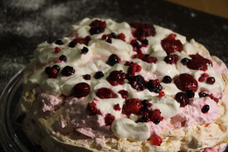 Marshmallow-Frucht-Torte