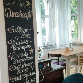 Wunschcafé-Tafel