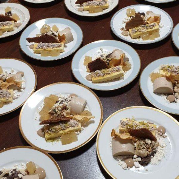 paulsstern: Nachtisch - Birne | Schokolade | Nüsse | Kastanien