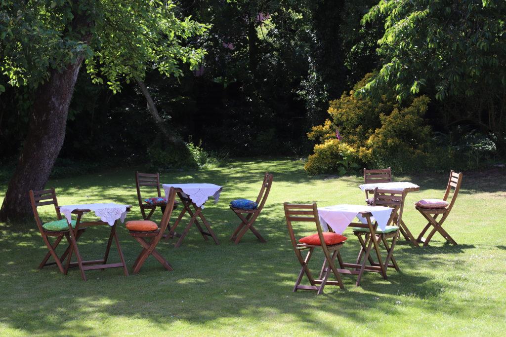 Wunschcafé-Garten